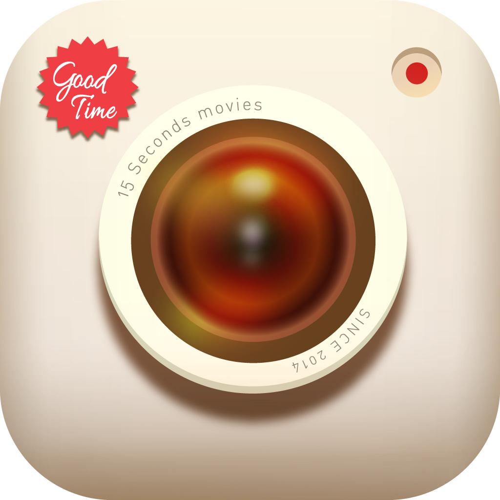 GOODTIME -あなたが作るCM・PV動画。音楽やフィルターでムービー・ビデオをオシャレに。カメラで(無音)撮影し、加工・編集・作成できる無料アプリ- グッドタイム