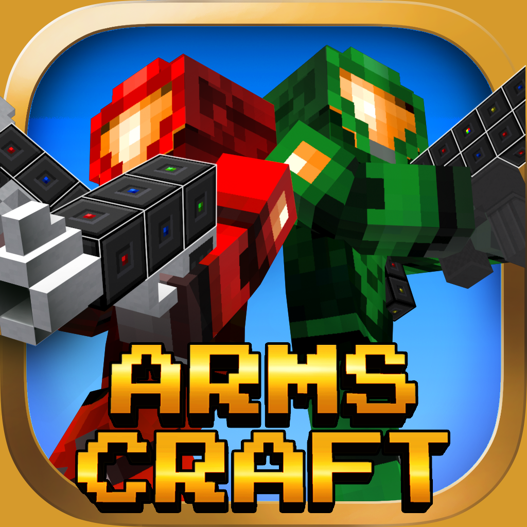 Arms Craft : Pixel Space Gun Adventure FPS